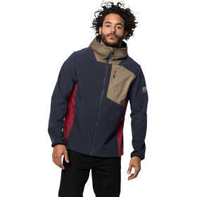 Jack Wolfskin 365 Millenium Jacke Herren night blue peak red